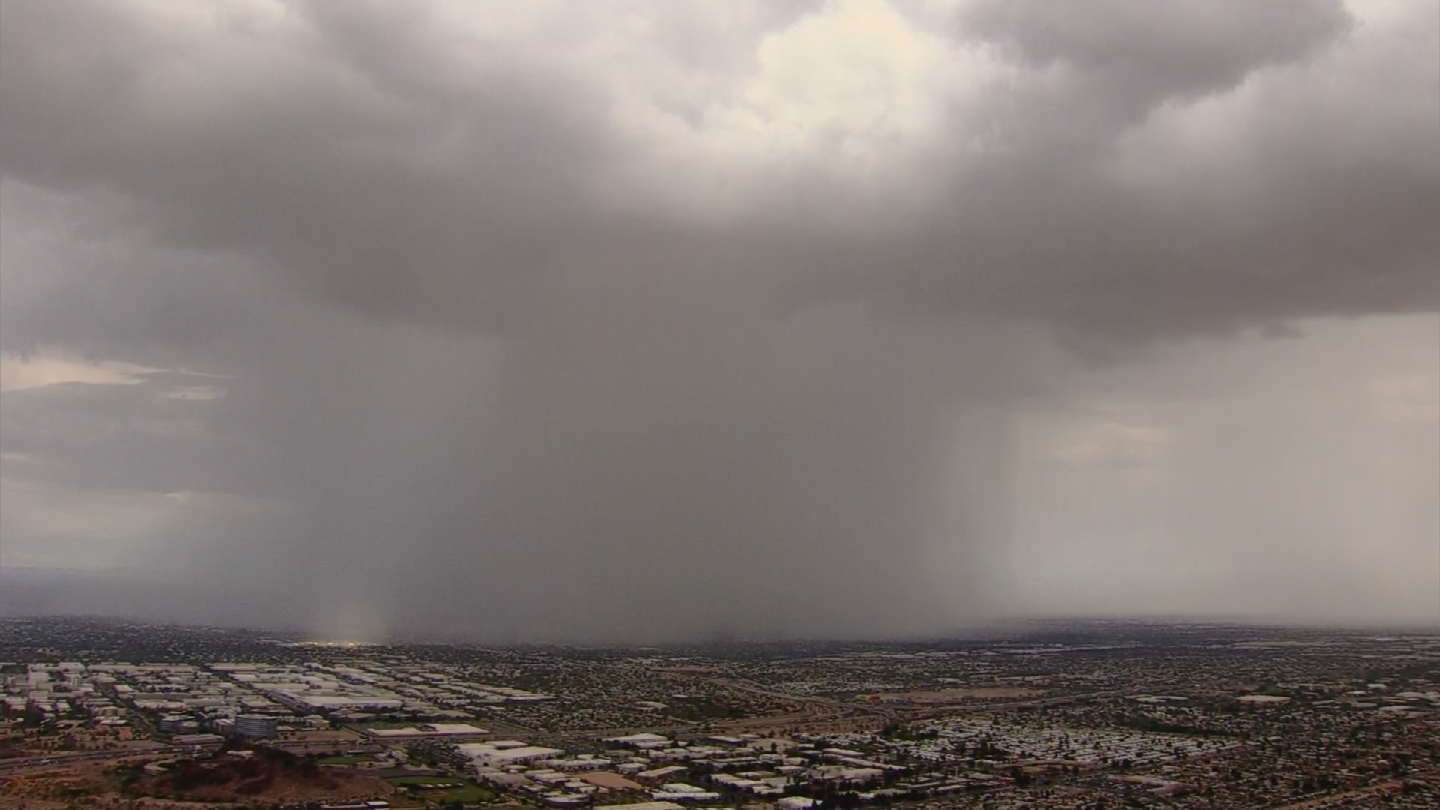 The Arizona monsoon probably got its name back in the late 40s. (Source: 3TV/CBS 5)