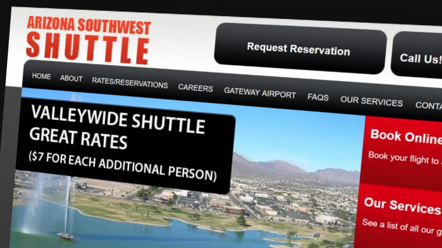A Canadian couple is thrilled after getting $360 back from a shuttle service to Sky Harbor Airport that should have been a $36 ride. (Source: 3TV)