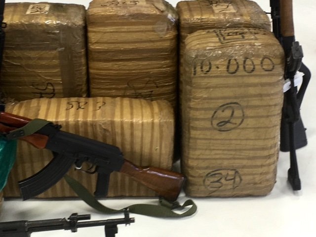 A photo of some of the drugs seized by the Arizona Border Strike Force. (Source: 3TV/CBS 5)