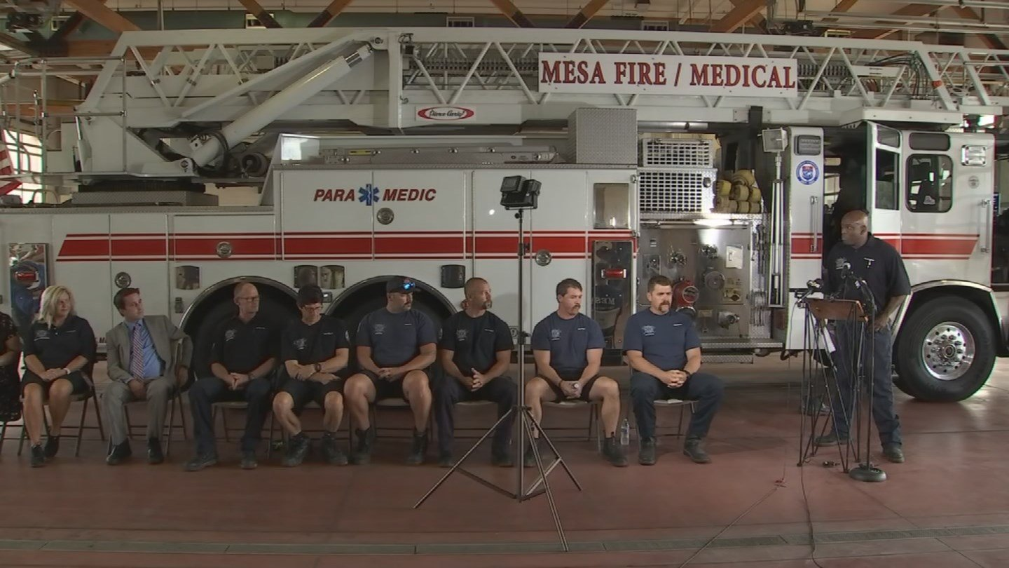 The crew that helped rescue the victim spoke about their experience the night of the incident. (Source: 3TV/CBS 5)