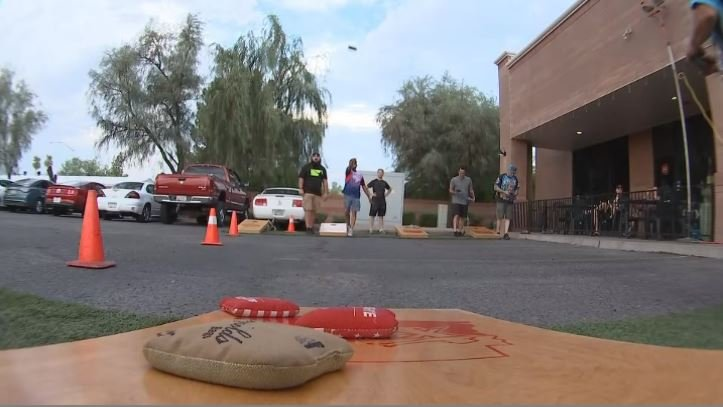 Competitive cornhole is growing in Valley popularity. (Source: 3TV/CBS 5)