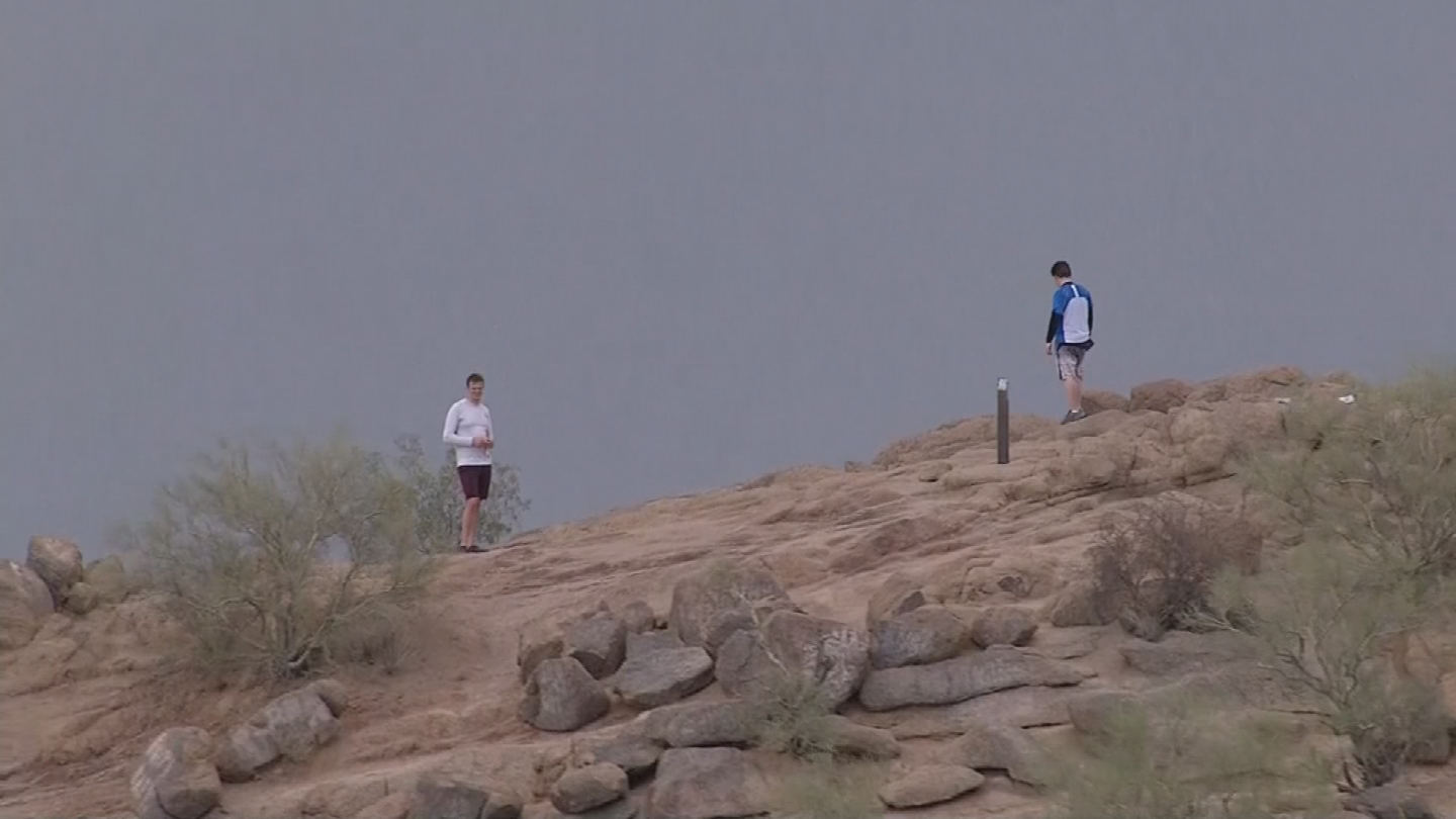 While a monsoon might bring cooler temperatures and attract hikers to the great outdoors, rescuers warn it might not be the best place to be during a storm. (Source: 3TV/CBS 5)