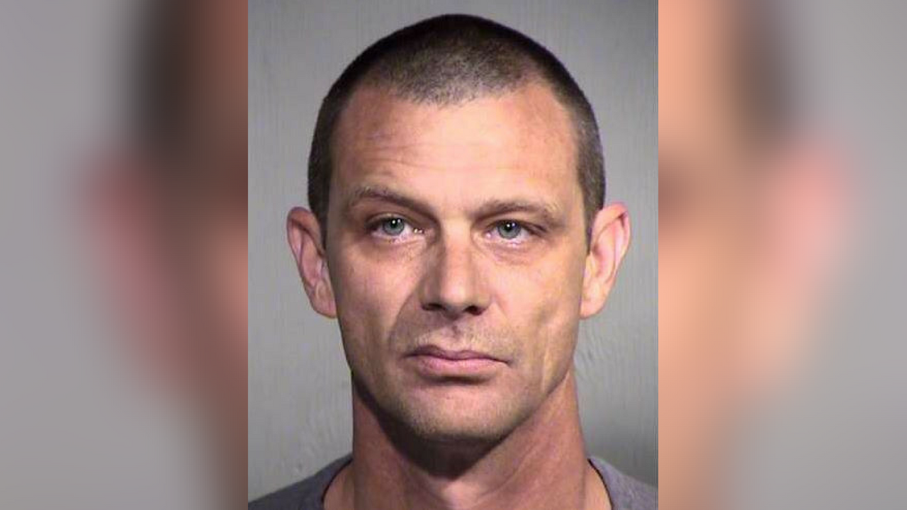 Matthew Disbro, arrested for impersonating an officer (Source: Arizona Department of Public Safety)