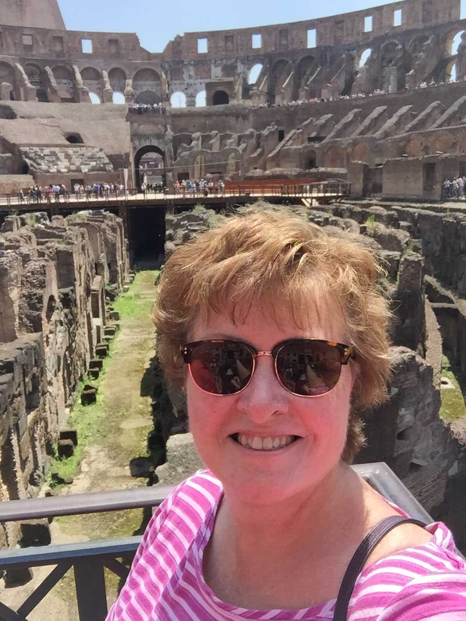 Don't bother with 'skip the line' tickets in Rome, as we found out the hard way at the Colosseum!  (Source: Rosanne Coloccia)