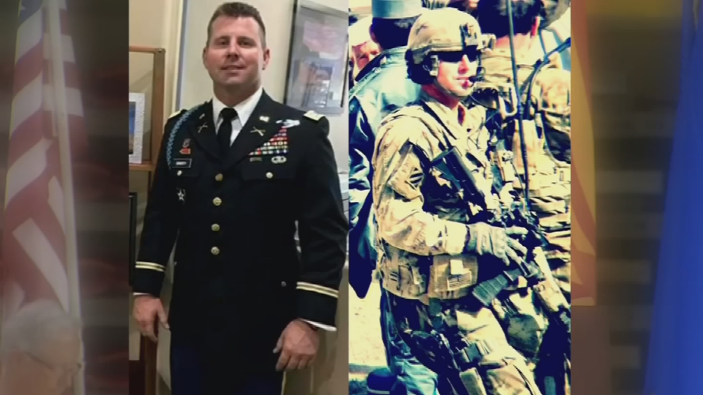 Coworkers and family members said their final goodbyes Tuesday to Justin Doherty. (Source: 3TV/CBS 5)