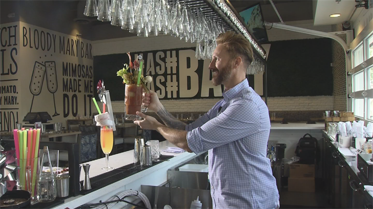 Sheldon Wiley was able to make nearly 2,000 cocktails in one hour. (Source: 3TV/CBS 5)