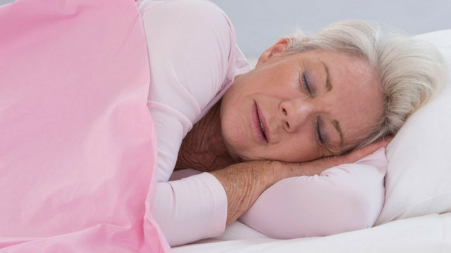 When's the last time you had a really good night's sleep? If you're like most of us, it doesn't happen often enough especially as we get older. (Source: 123rf.com)