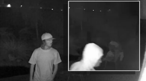 Two burglars were caught on camera breaking into a Tempe home while the people inside were sound asleep.