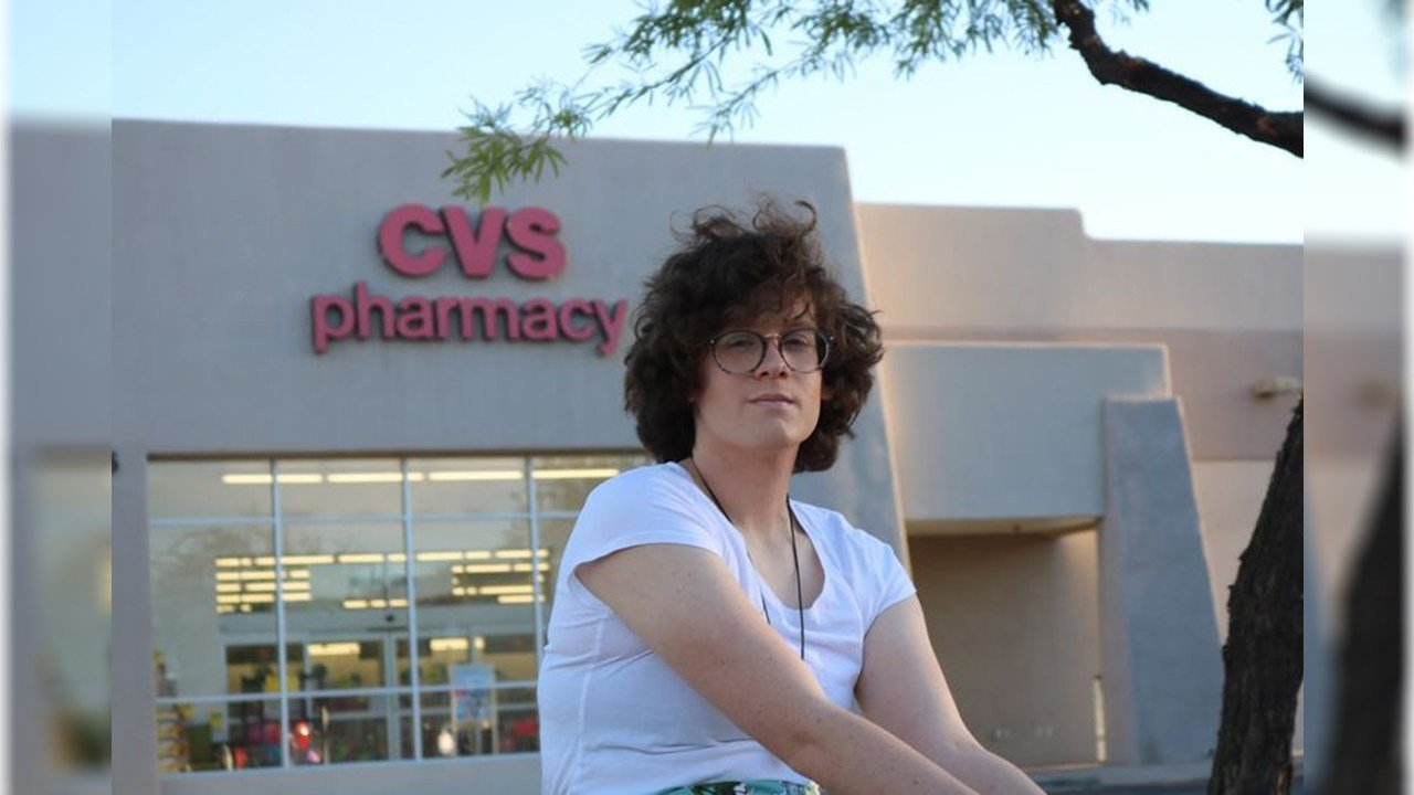 Hilde Hall says a pharmacist refused to fill her prescription for hormone therapy to begin her transition to a woman. (Source: ACLU of Arizona)