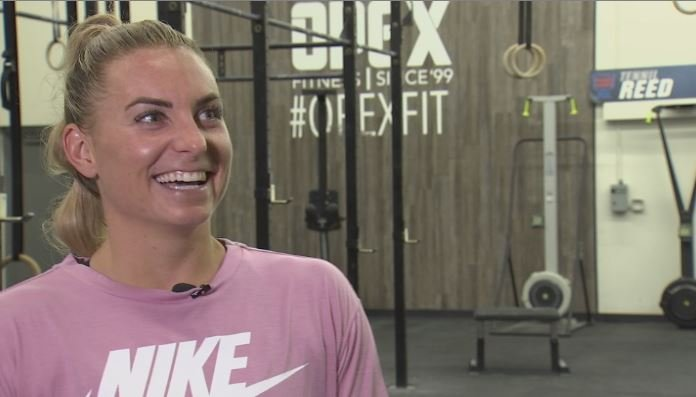"Tennil Reed-Buerlein is the ""Fittest Woman in America."" (Source: 3TV/CBS 5)"