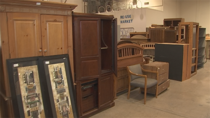 A nonprofit helps people find discounted building materials. (Source: 3TV/CBS 5)