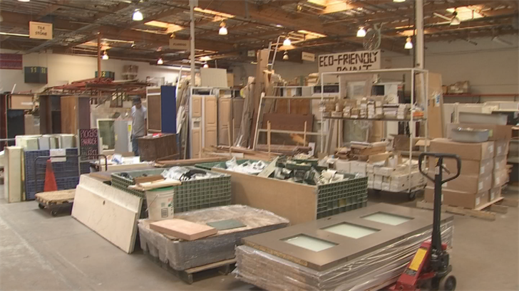 Stardust is the only material reuse nonprofit organization in the Phoenix metro area with one store in Glendale and another store in Mesa. (Source: 3TV/CBS 5)
