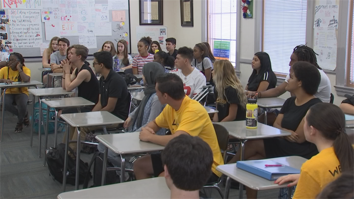 On Monday, 45,000 students went back to school in the Chandler Unified School District. (Source: 3TV/CBS 5)