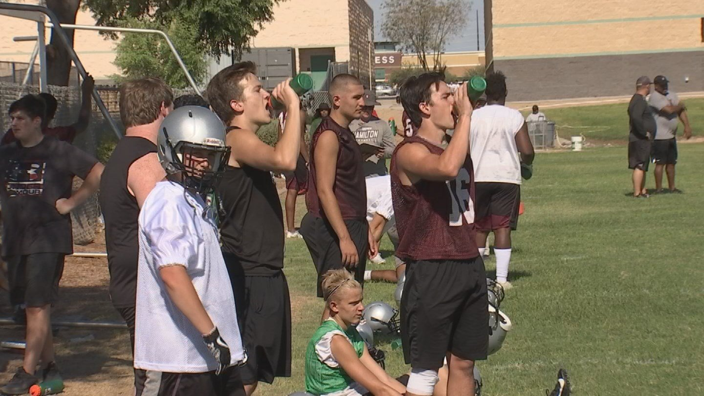 High school football practice began today for many teams. (Source: 3TV/CBS 5 News)