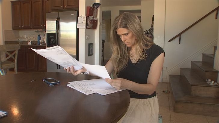 Heather Cooper was fighting with Aetna over medical bills she said she didn't owe. (Source: 3TV)