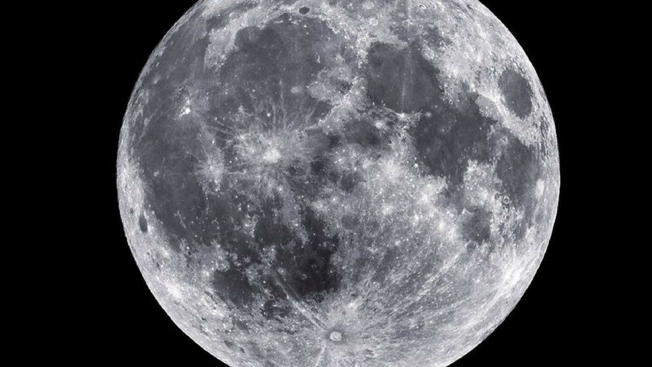 The July moon is known as the Buck Moon. (Source: NASA)