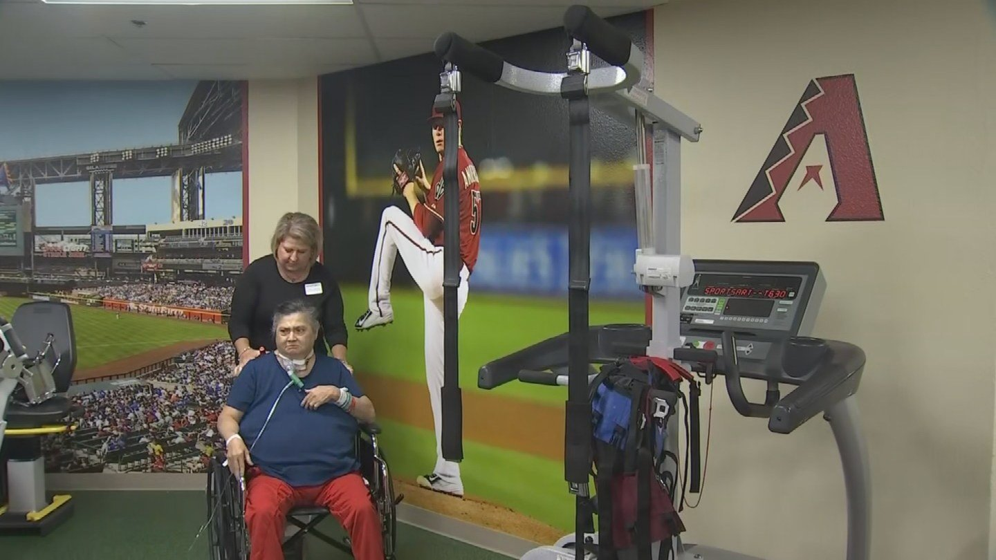 The new therapy room features state-of-the-art equipment. (Source: 3TV/CBS 5)