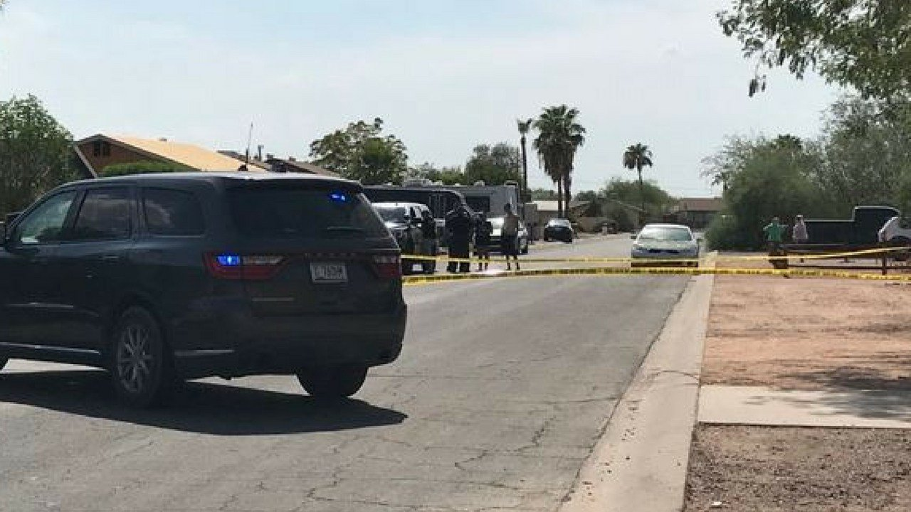 A home invasion suspect was shot and killed by the homeowner in this Apache Junction neighborhood. (Source: 3TV/CBS 5)