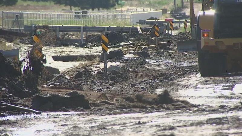 The city of Flagstaff says recent flooding has caused about $300,000 in damage to public infrastructure. (Source: 3TV/CBS 5)