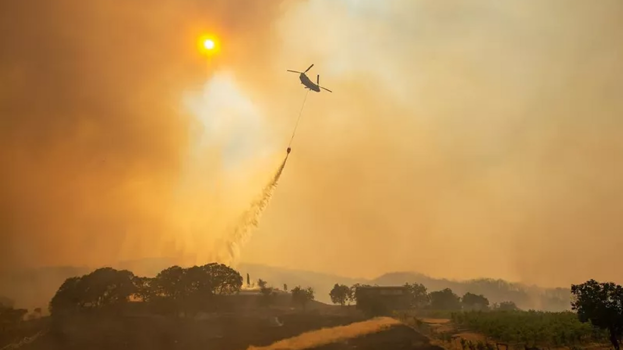 Mendocino Complex Fires Threatening Thousands Of Homes
