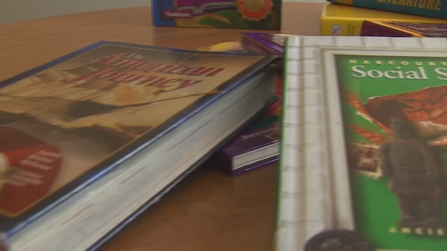 Half of 47 school districts say social studies textbooks are more than 10 years old. (Source: 3TV/CBS 5)