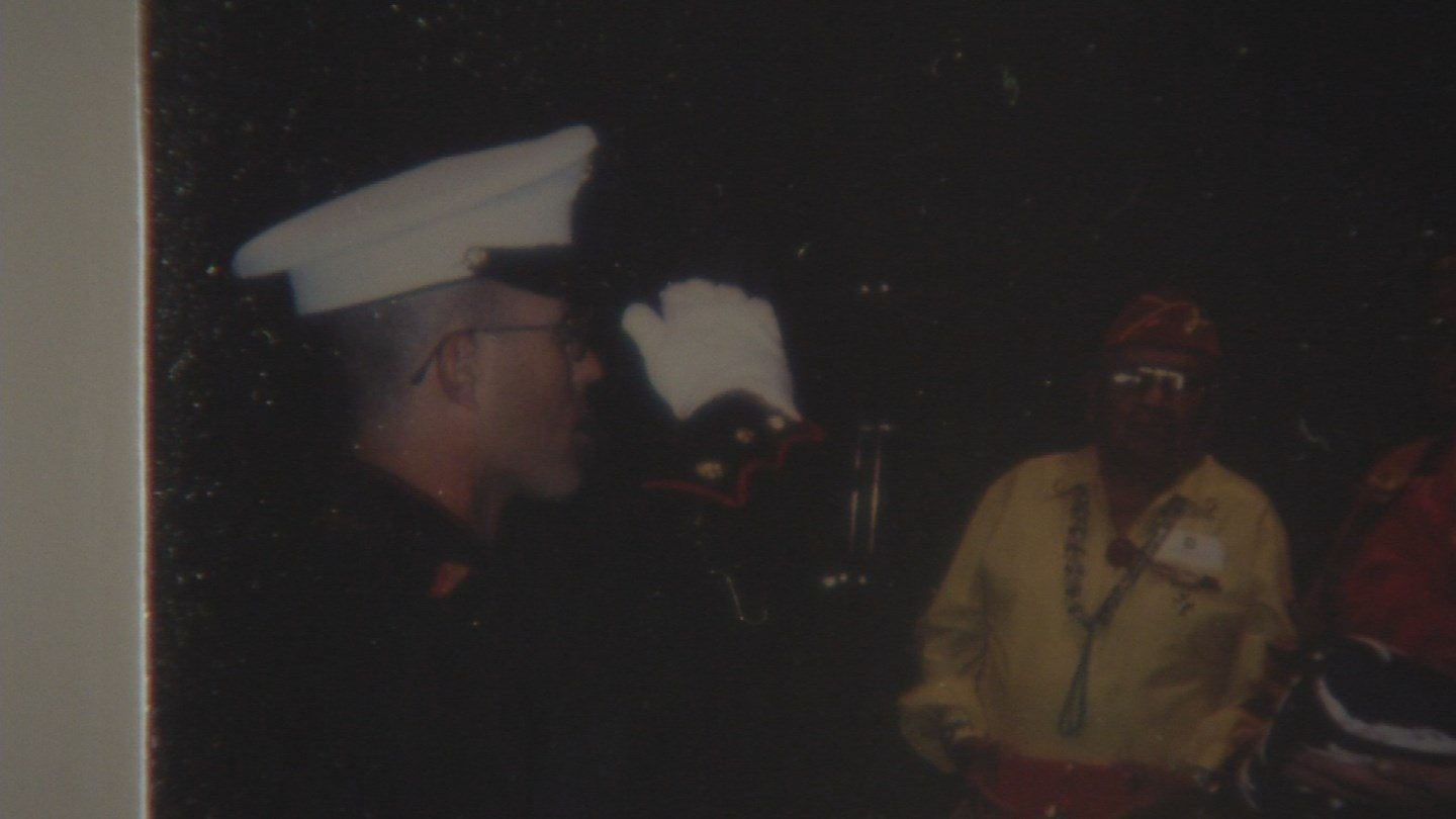 Serock was a Marine for four years and served in the Gulf War.