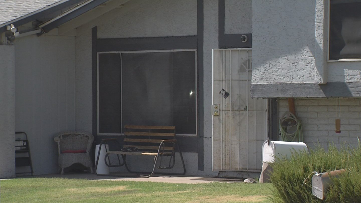 The little boy was pulled from a pool in Mesa on Saturday. (Source: 3TV/CBS 5)