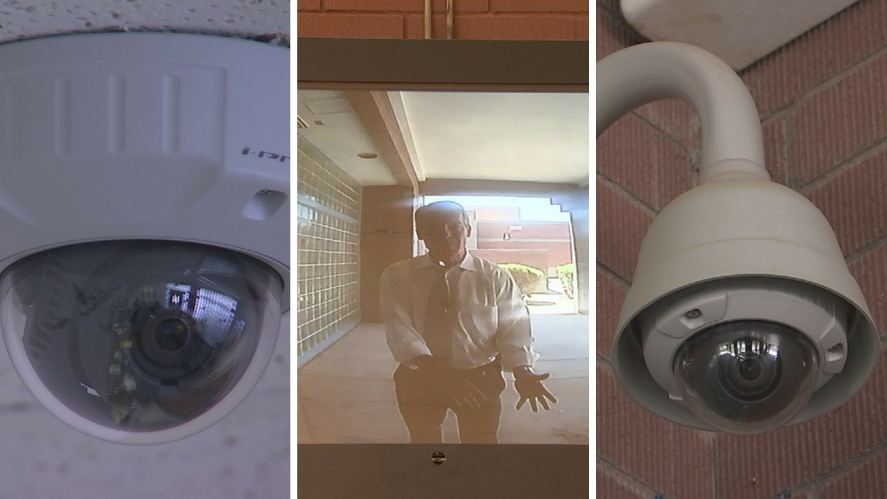 New security measures are in place at this Phoenix elementary school. (Source: 3TV/CBS 5 News)
