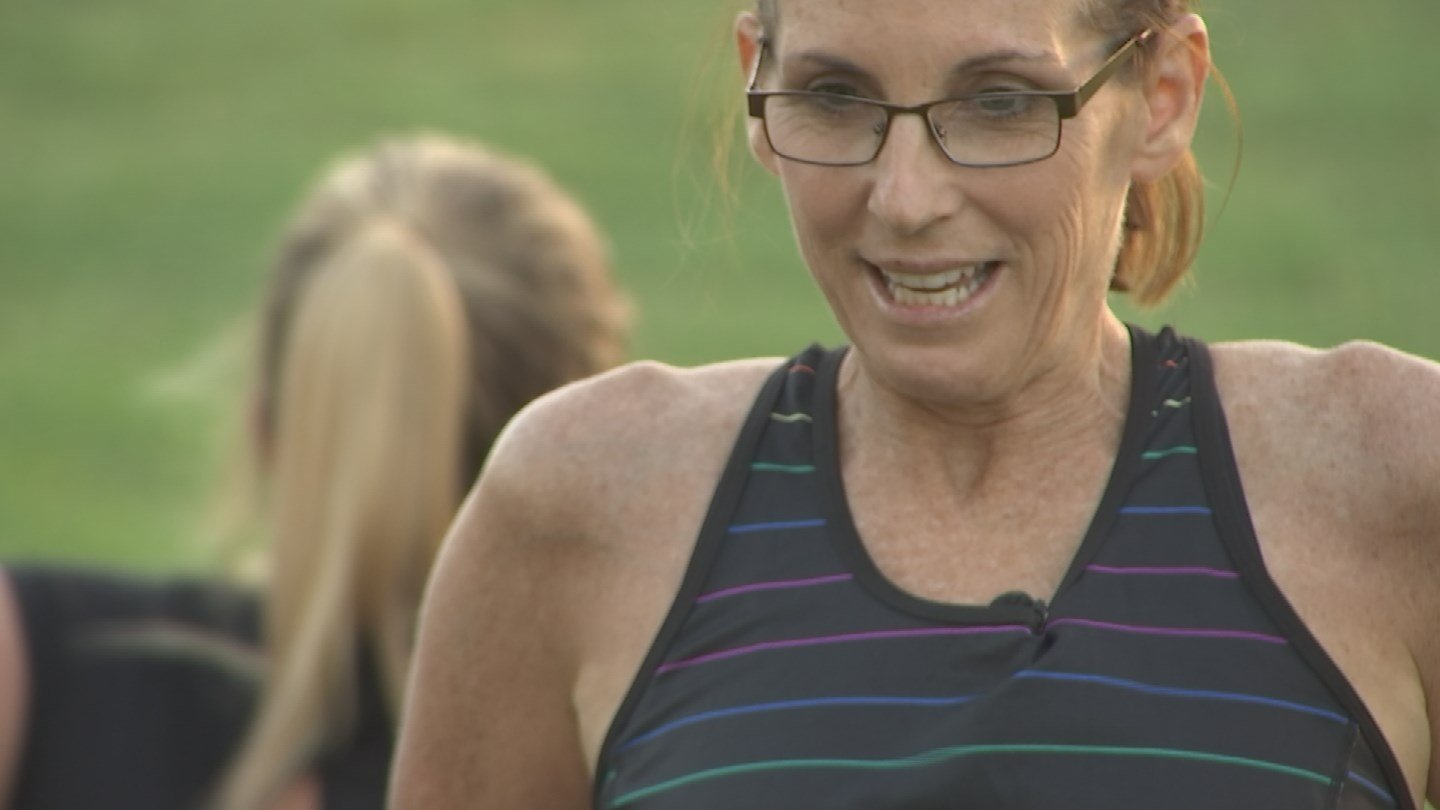 McSally says some of best ideas come to her while she's exercising. (Source: 3TV/CBS 5)