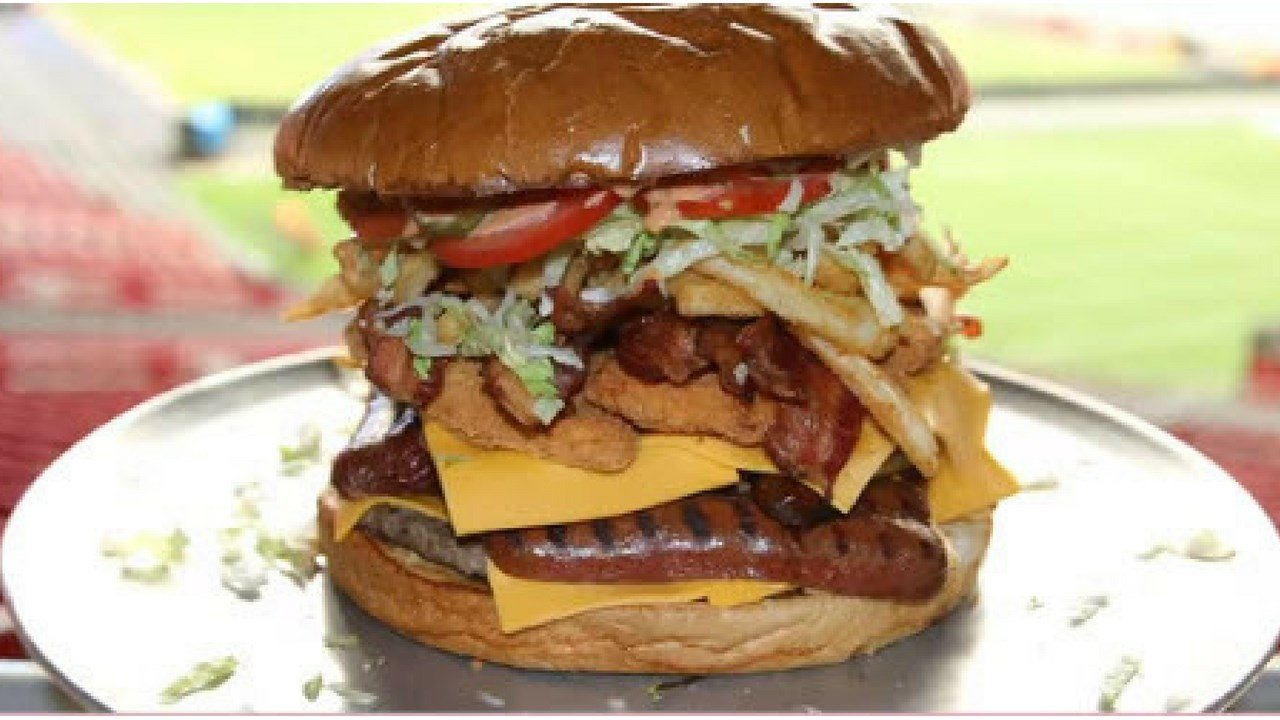 The Gridiron Burger Challenge (Source: Arizona Cardinals)