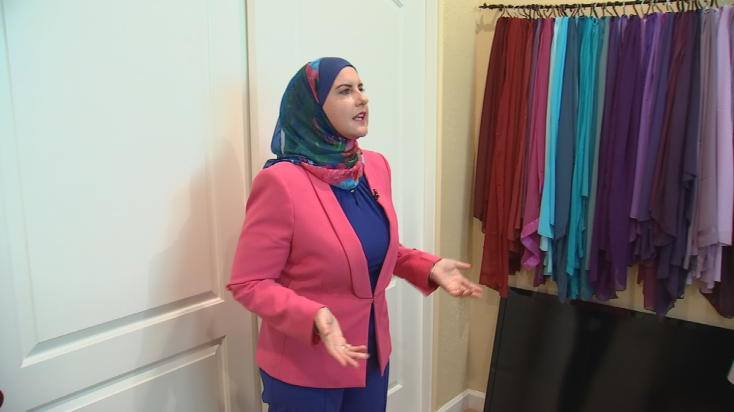 Abboud also knows that her headscarfcan raise eyebrows and suspicions. (Source: 3TV/CBS 5)