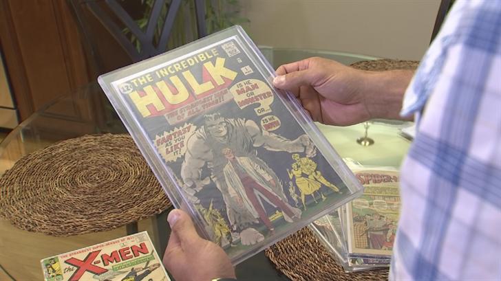 Kurt Masse is upset over the comic book he bought in Phoenix. (Source: 3TV)