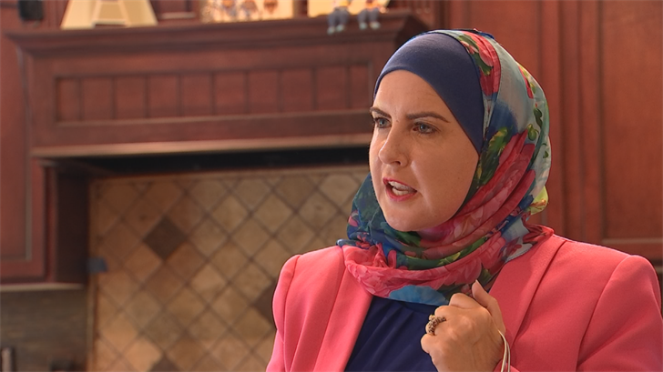 The lone candidate running to the left is Deedra Abboud. (Source: 3TV/CBS 5)