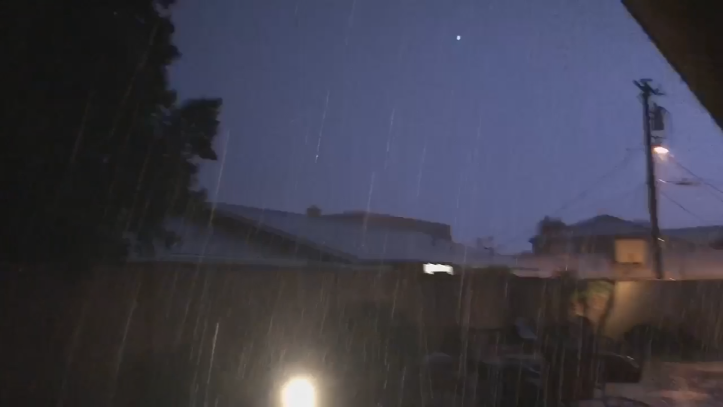 The monsoon brought storms to practically the entire Valley on Wednesday night where most people got rain and dust. (Source: 3TV/CBS 5)