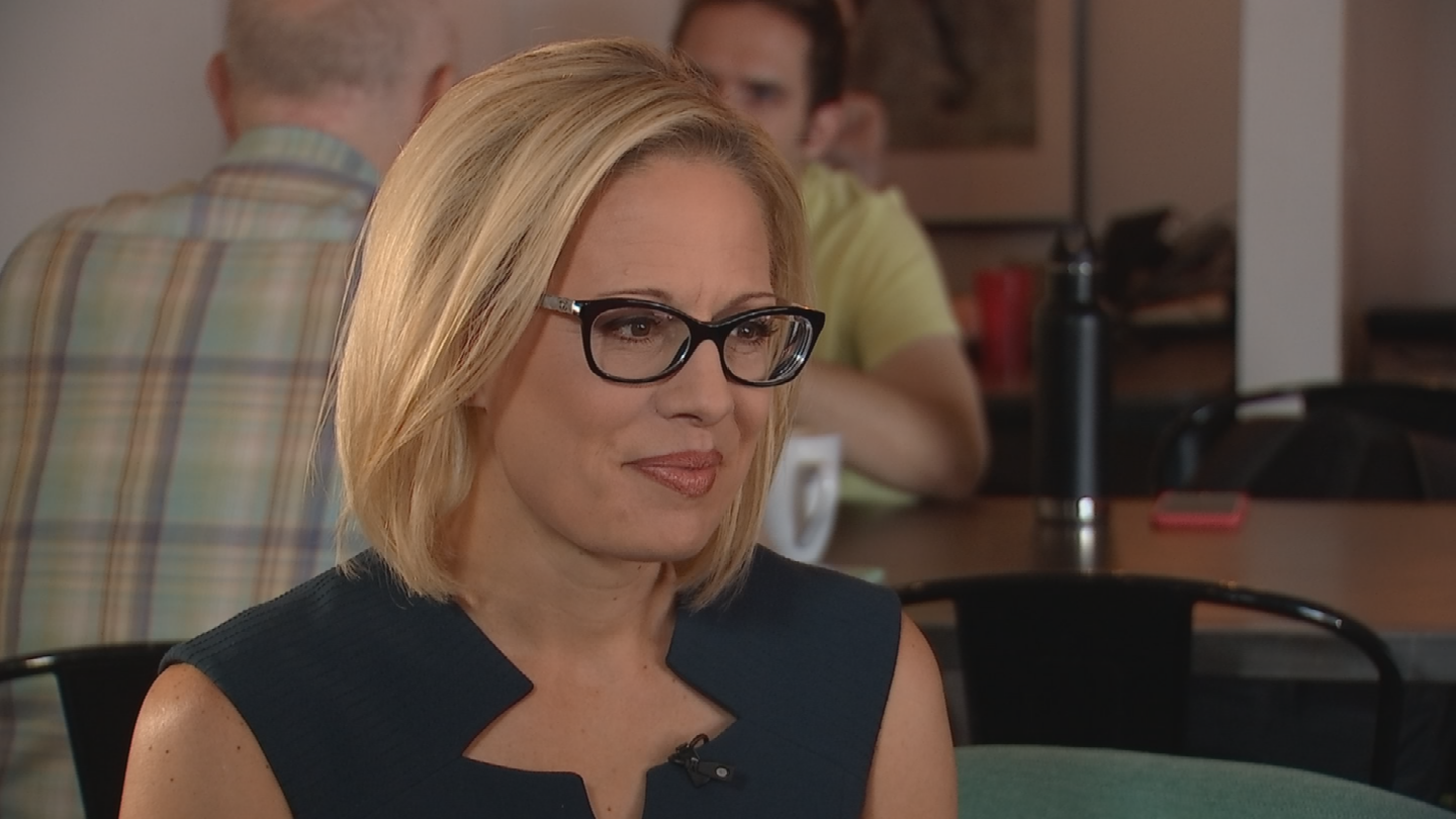 Rep. Kyrsten Sinema says she is a total bookworm. (Source: 3TV/CBS 5)