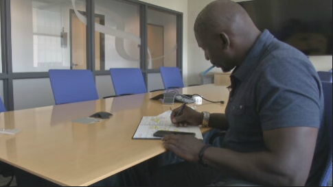 Solomon Wilcots, a six-year NFL veteran, is taking part in the study and is urging others to do the same. (Source: 3TV/CBS 5)