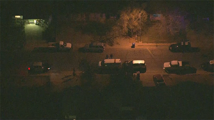 The victim, in his late 40s or 50s, was taken to the hospital where he underwent surgery. (Source: 3TV/CBS 5)