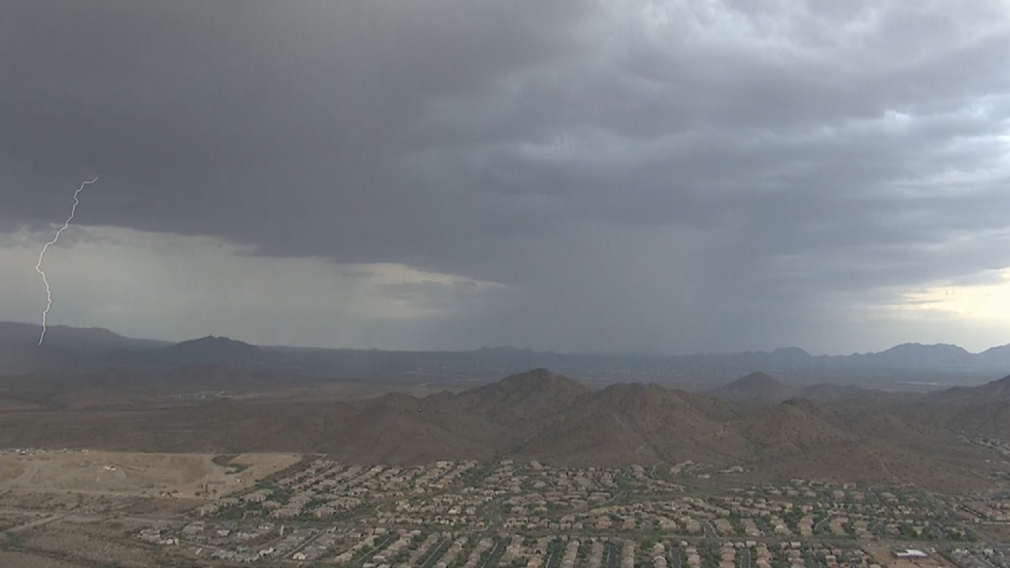When lightning strikes, nothing in its path is safe. (Source: 3TV/CBS 5)