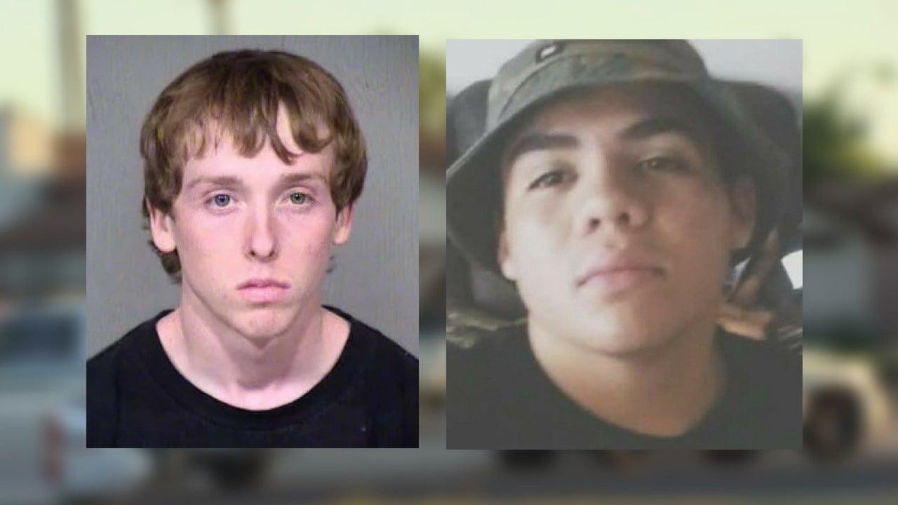 L- Aaron Ott (suspect) and R-Miguel Navarro (victim)