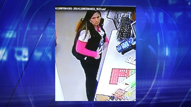 Surveillance photo of suspect (Source: Scottsdale Police Department)