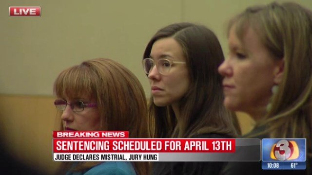 Jodi Arias was spared the death penalty. (Source: 3TV)