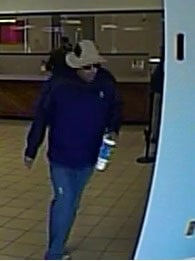 The FBI's Bank Robbery Task Force is trying to identify a man suspected in eight Phoenix-area bank robberies. (Source: FBI)
