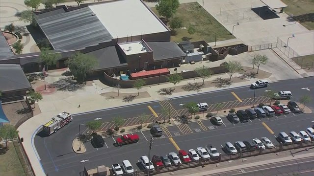Three students at Vista Peak School became ill after ingesting an unknown substance. (Source: 3TV)