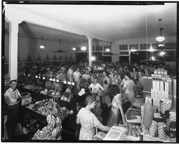 Douglas & Sons grocers serve five Tucson neighborhoods. By Arizona Historical Society
