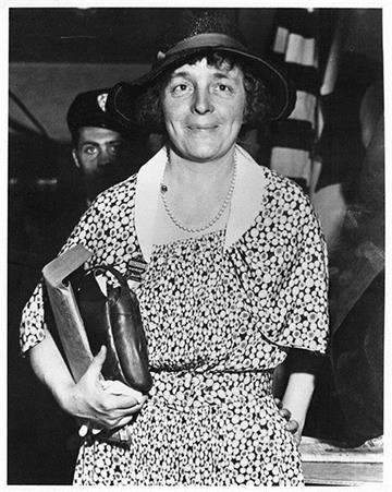 On October 3, 1933 Isabella Greenway was elected Arizona's first Congresswoman. By Arizona Historical Society