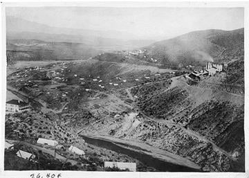 On October 5, 1903The U.S. Dept. of Interior authorizes construction of Roosevelt Dam.  It's the first great irrigation enterprise attempted by the federal government. By Arizona Historical Society