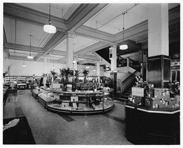 On October 6, 1935Steinfeld's held an open house at the completion of their store remodeling. By Arizona Historical Society