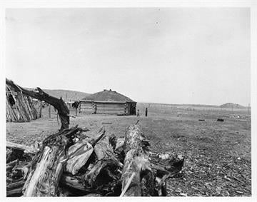 On October 9, 1898St. Michael's Mission, in a converted trading post building, was blessed and officially dedicated. By Arizona Historical Society