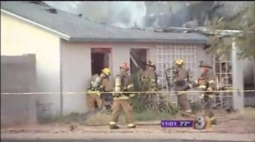 The Mesa police and fire departments have confirmed that one person was killed in an early morning house fire at a home that was initially believed to be vacant. By Jennifer Thomas