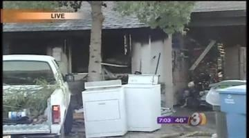 Investigators are looking into an early morning fire that gutted a home in the area of 38th Street and Thunderbird Road. By Catherine Holland